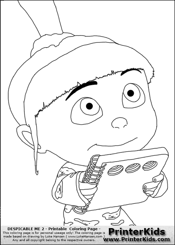 Despicable Me 2 Coloring Pages Top Despicable Me Eduardo Full