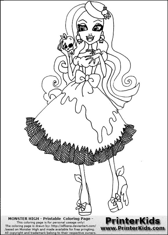 Coloriage monster high draculaura imagui for Draculaura monster high coloring pages